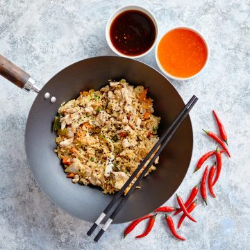 delicious-fried-rice-with-chicken-in-wok-CQFVREH.jpg